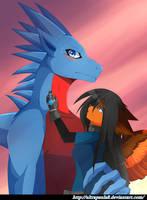 Love Dragon by PauDragonwolf