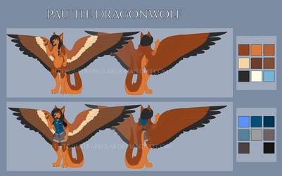 Referencia: Pau the Dragonwolf 2017 by PauDragonwolf