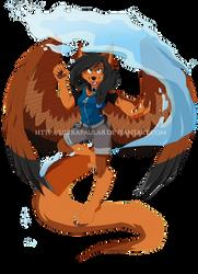 SC- Pau the Dragonwolf by PauDragonwolf