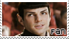 Spock Fan Stamp -2- by TaishoBee