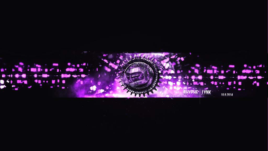 Banner Youtube Ghyphe Roxo By LynkArtsLK On DeviantArt