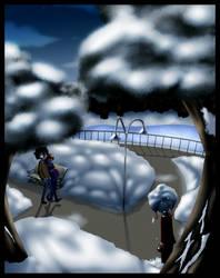 .:Winter Stroll:. by kiki-kit