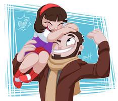 Dad's Little Buccaneer by kiki-kit