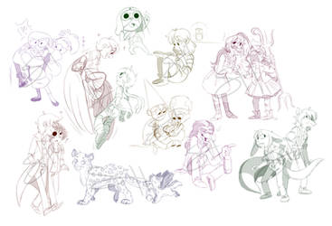 sketch coms batch 1 by kiki-kit