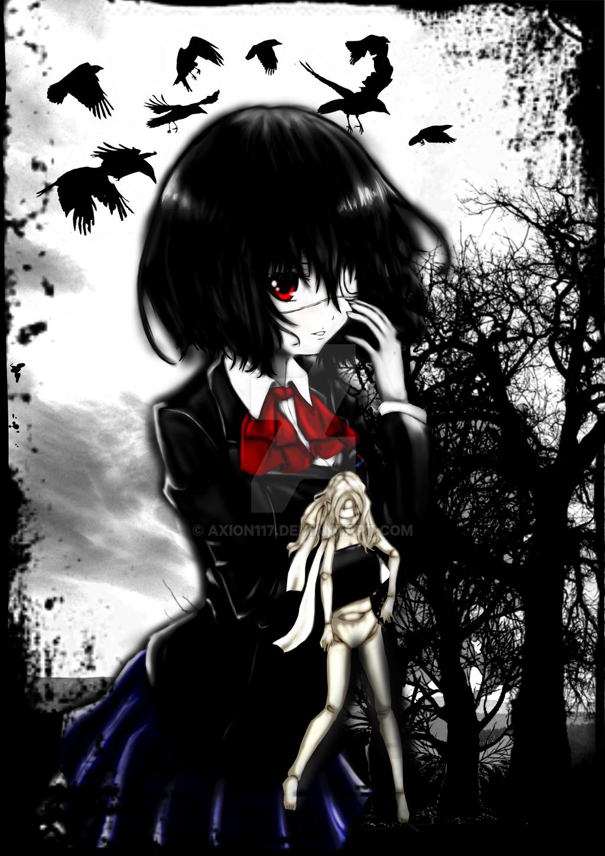 Misaki Mei - Another (fan art) by axion117 on DeviantArt