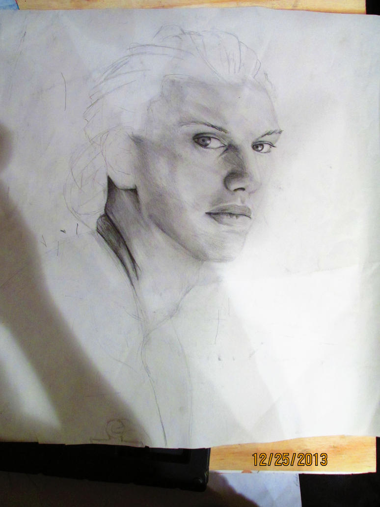 Jamie Campbell Bower (WIP) by Flamefire13