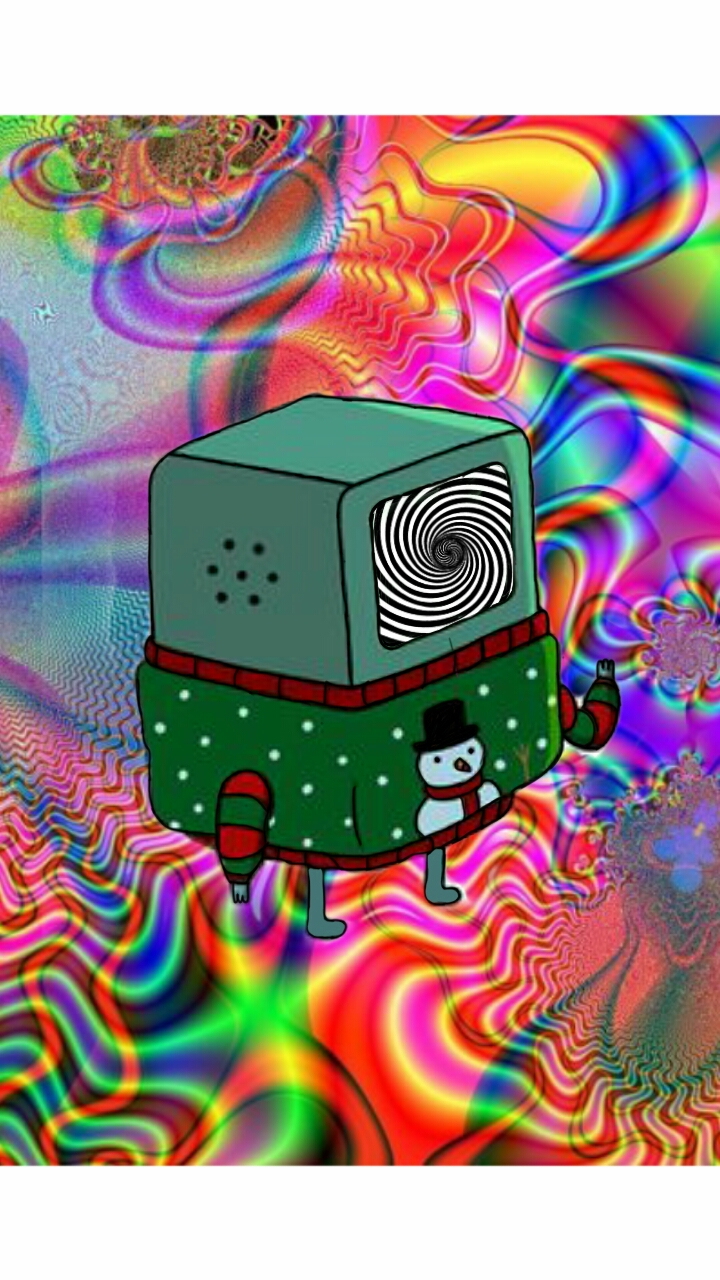 Trippy christmas BMO by tonydonithan on DeviantArt