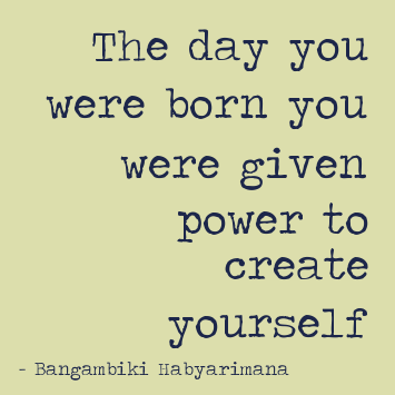 create yourself quotespower quotes by Bangambiki H by bangambiki