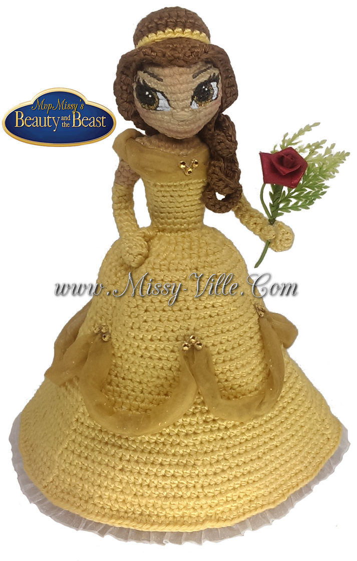 Amigurumi Star Wars Deutsch : Disneys Belle ~ Beauty and the Beast ~ Crochet by ...