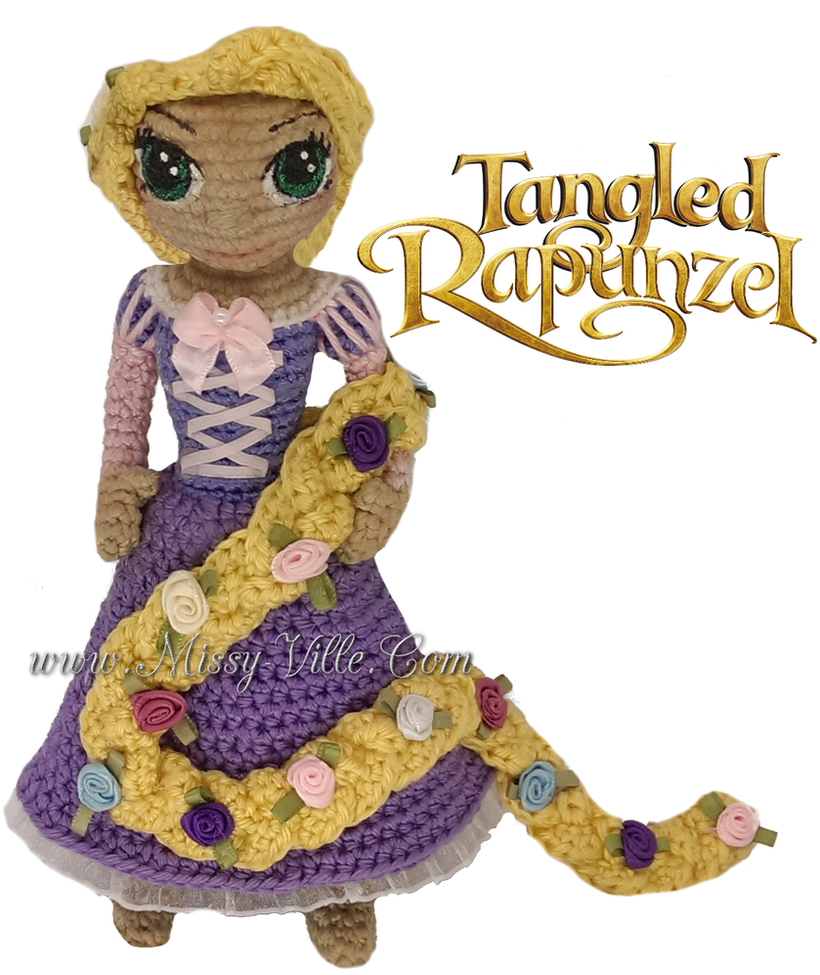 Disneys Tangled ~ Rapunzel ~ Crochet Amigurumi by ...