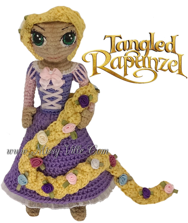 Amigurumi Walt Disney : Disneys Tangled ~ Rapunzel ~ Crochet Amigurumi by ...