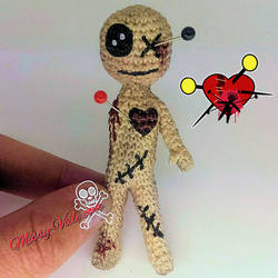 itty-Bitty Teeny-Weeny Little-Dirty VooDoo Doll !!