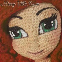 6 Thread Crochet Disney Ariel Mermaid Doll