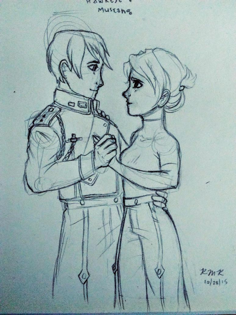 Roy and Riza by sundaygir1