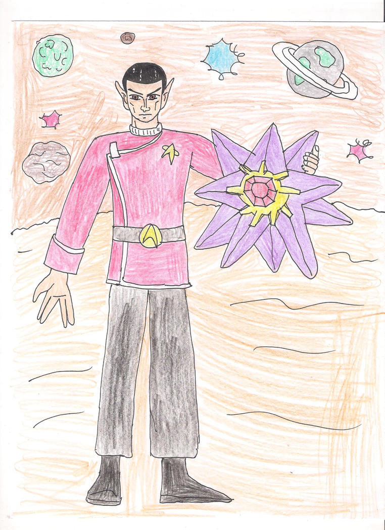 Mr Spock and Starmie by 1Missy