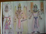 egyptian Princess Fashion Parade by 1Missy