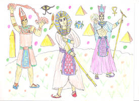 The last Members of the old Kingdom/ sixth Dynasty