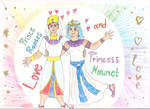 Rapses and Naunet the Love Couple by 1Missy