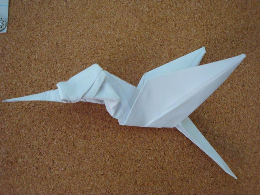 How to Fold a simple origami hummingbird « Origami :: WonderHowTo | 675x900
