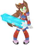 [CE] Naomi the Cyber Hedgehog