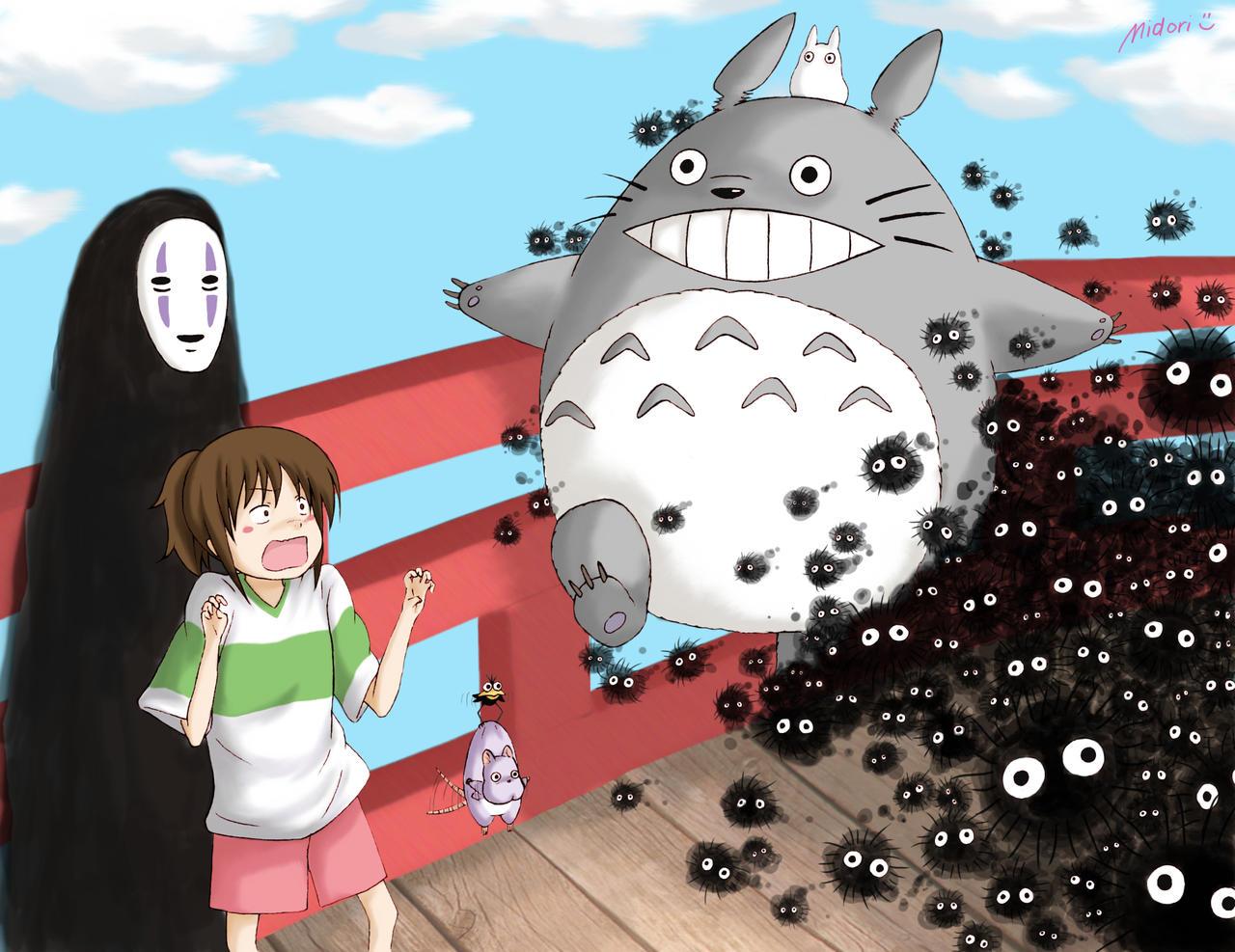 Image result for anime spirit away