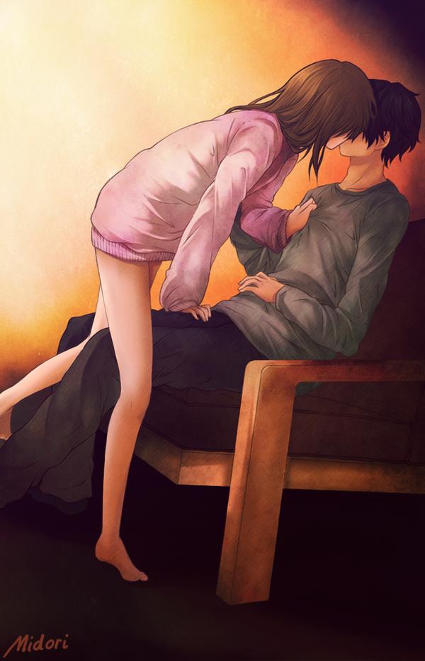 Kiss... by mmidori31