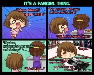 Chibi Reiko #4 - It's a  Fangirl Thing.