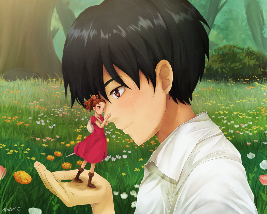 The Borrower Arrietty by mmidori31