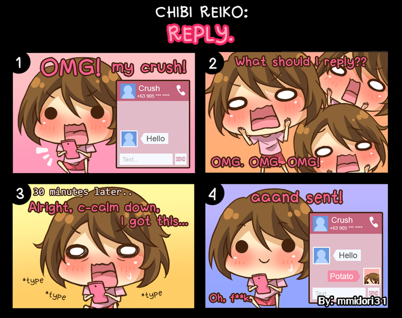 Chibi Reiko #23 - Reply. by mmidori31
