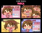 Chibi Reiko #23 - Reply.