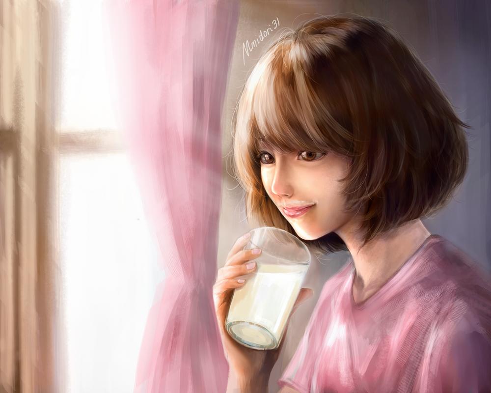 Reiko semi-realistic Study by mmidori31