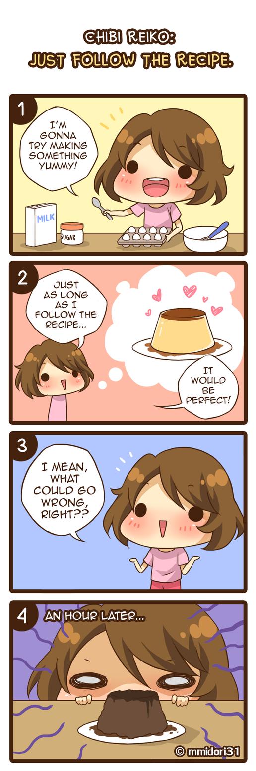 Chibi Reiko #44 - Just follow the recipe by mmidori31