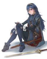 Lucina - Fire Emblem Fanart [Commission] by mmidori31