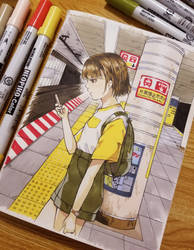 Midnight Tokyo Subway