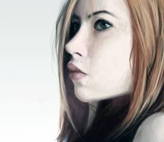 Portrait study #3 Vika by dafrek