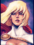 Power Girl by dafrek