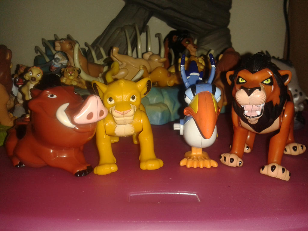 Lion King Full Set of McDonald's toys! by Daniellee14 on ...