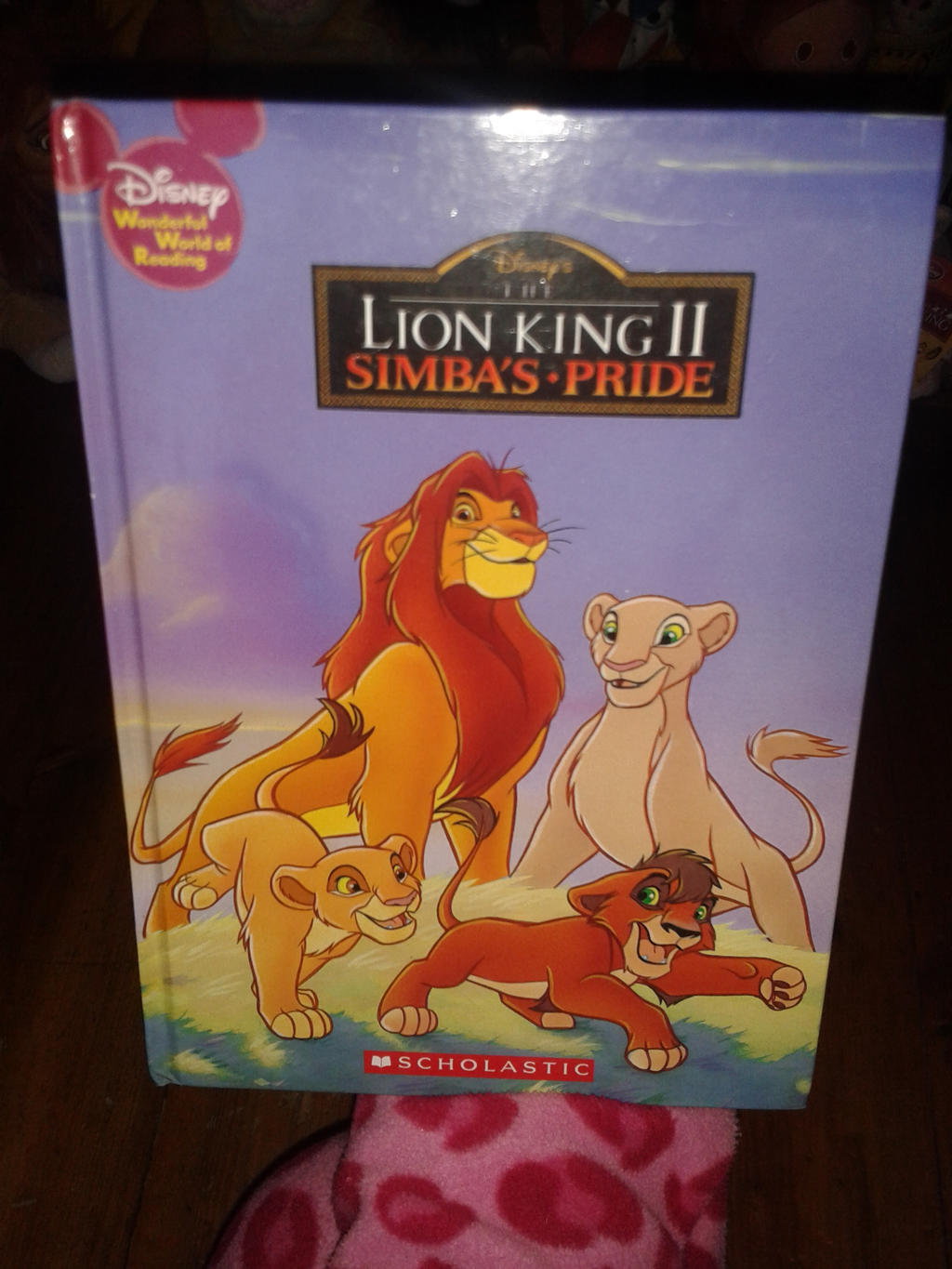 Grolier Lion King 2 Simbas Pride book by Daniellee14 on DeviantArt