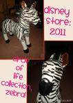 TLK DisneyStore Circle Of Life Collection-Zebra!
