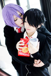 Murasakibara and Himuro by yui930