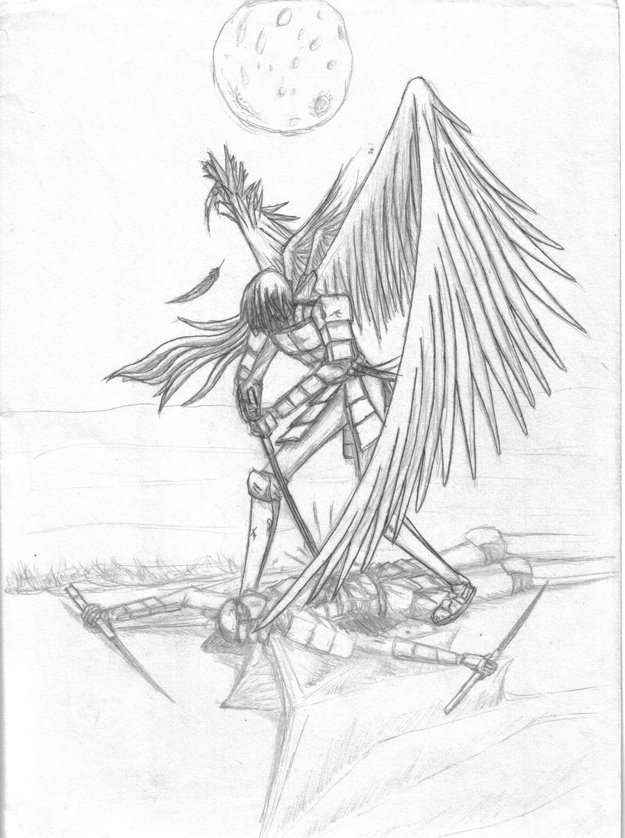 angel and demons drawings - photo #13