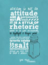 Your favorite cuisine is salt by whatshername13