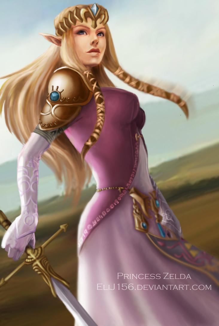 Princess Zelda by EliJ156