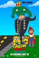 Geoshea World: The Movie (2011) UK Poster by geoshea