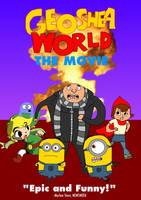 Geoshea World: The Movie (2011) DVD Cover Art by geoshea