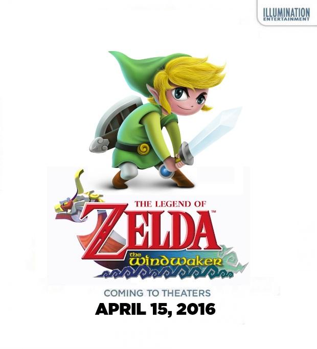 Legend Of Zelda Wind Waker Poster The Wind Waker Movie b...