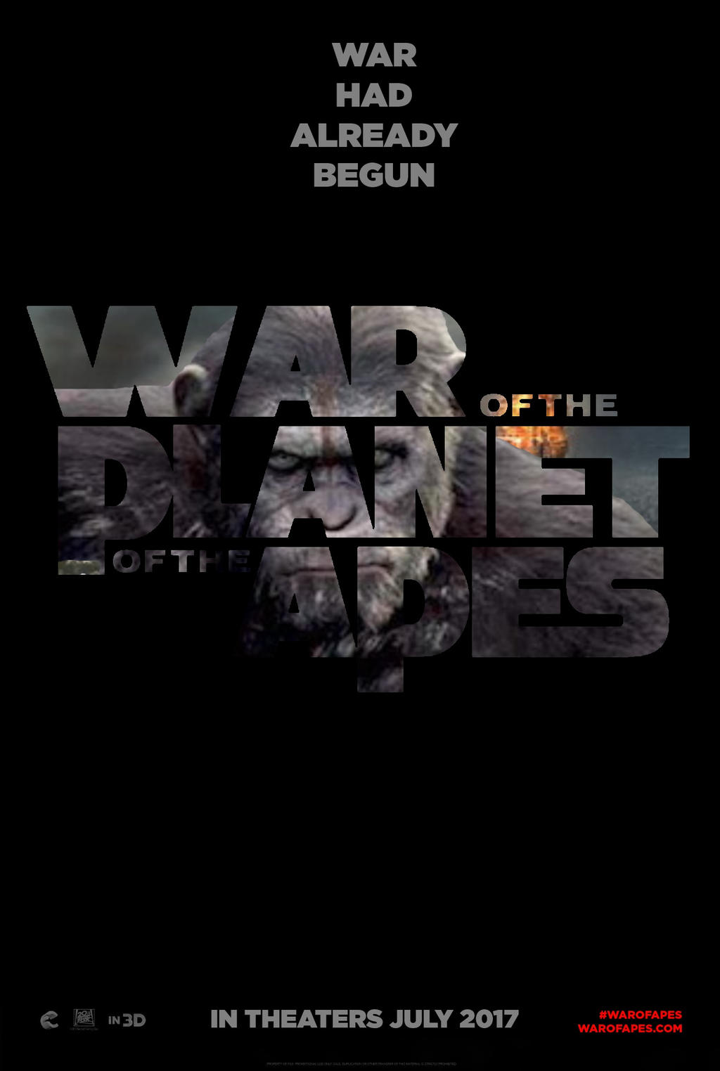 War for the Planet of the Apes (2017) Worldfree4u – Full Movie Dual Audio BRRip 720P English ESubs