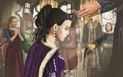 Julia's coronation... by amnis406