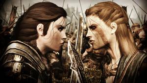 Epic confrontation...