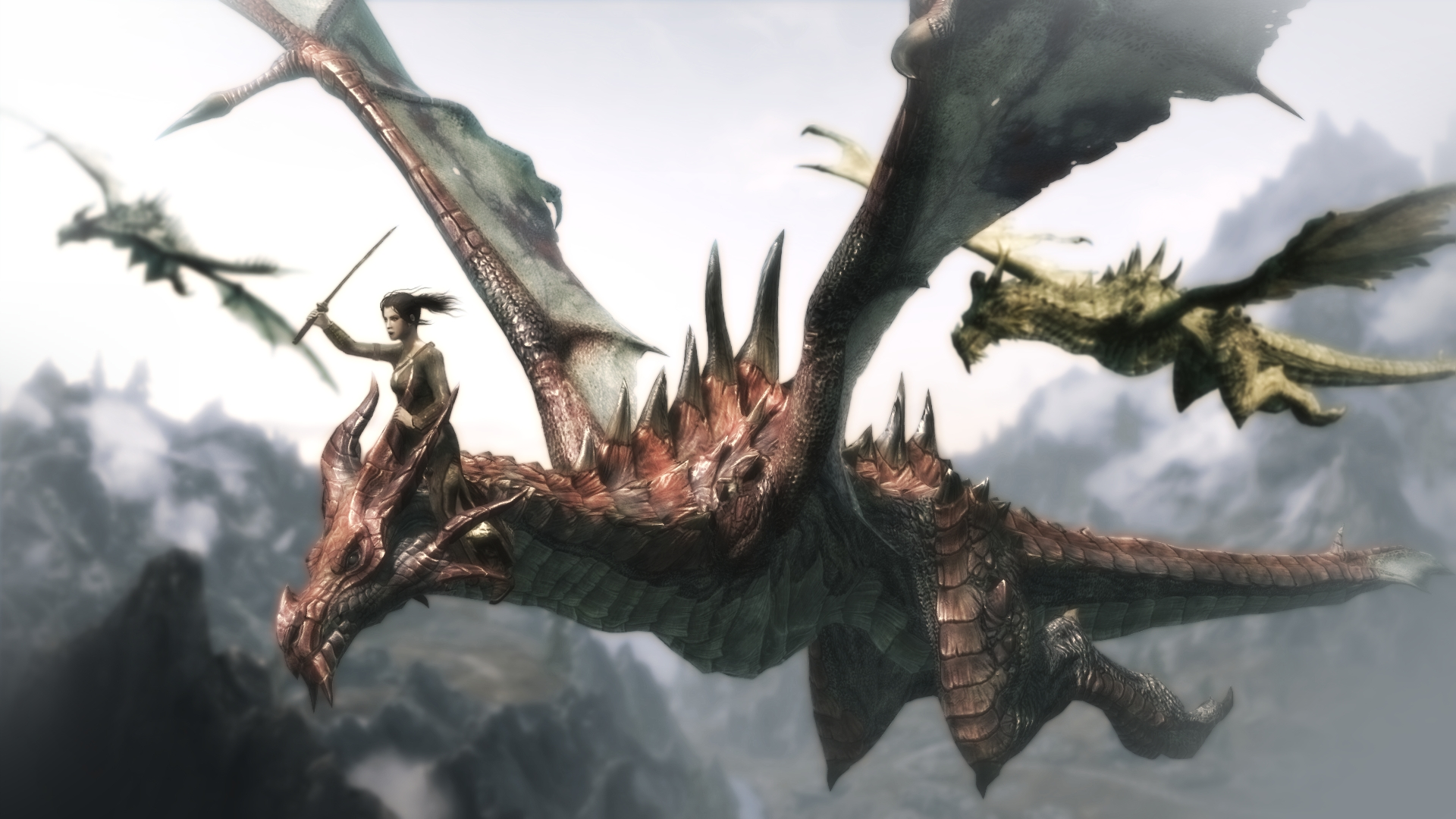 Flying Dragon: Flying With The Dragons By Amnis406 On DeviantArt